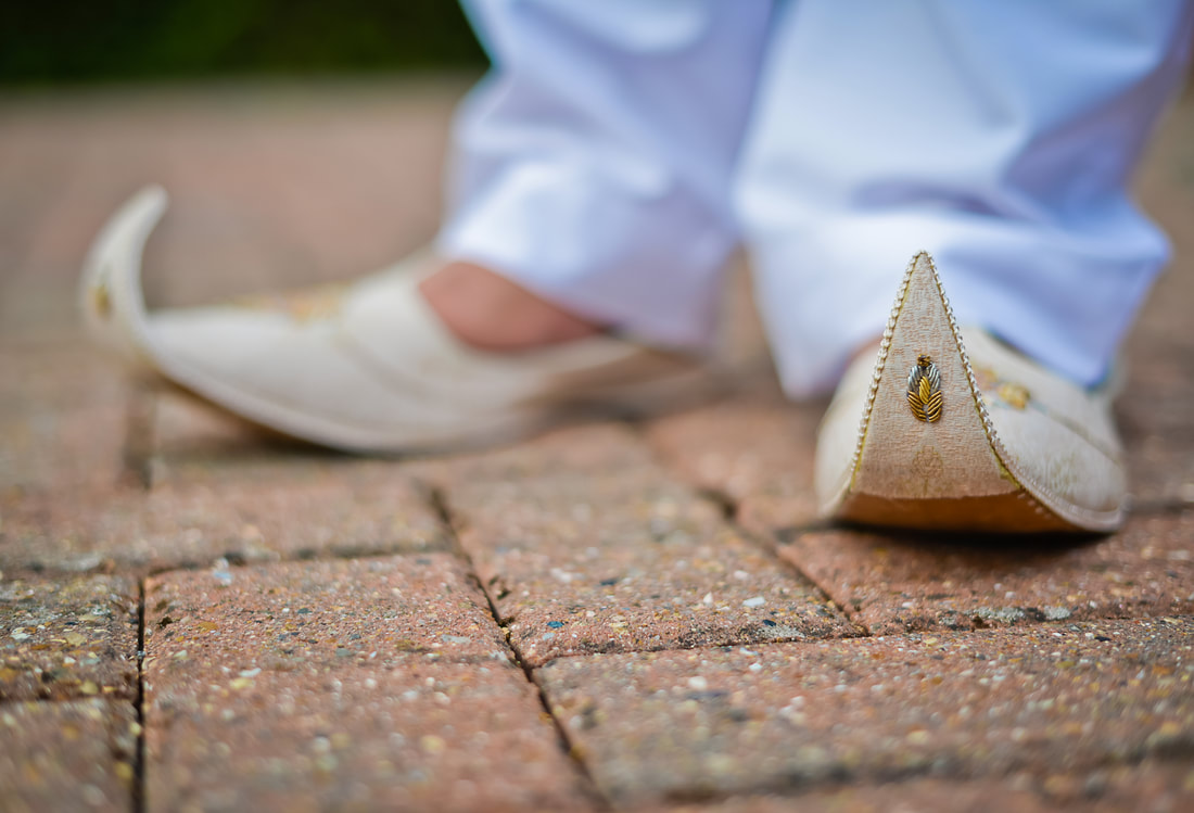 Pakistani Groom Shoes - creative photography by Prime Films Photographer
