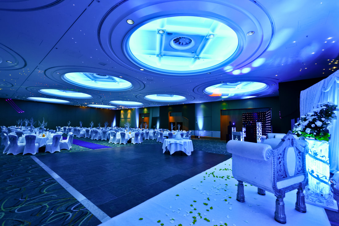 Wedding at Hilton London Metropole Prime films uk