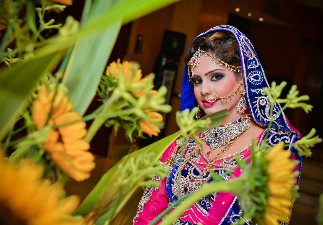 Beatiful Pakistani Bride at her wedding in London