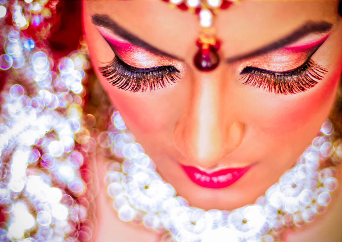 Stunning Bride Makeup London