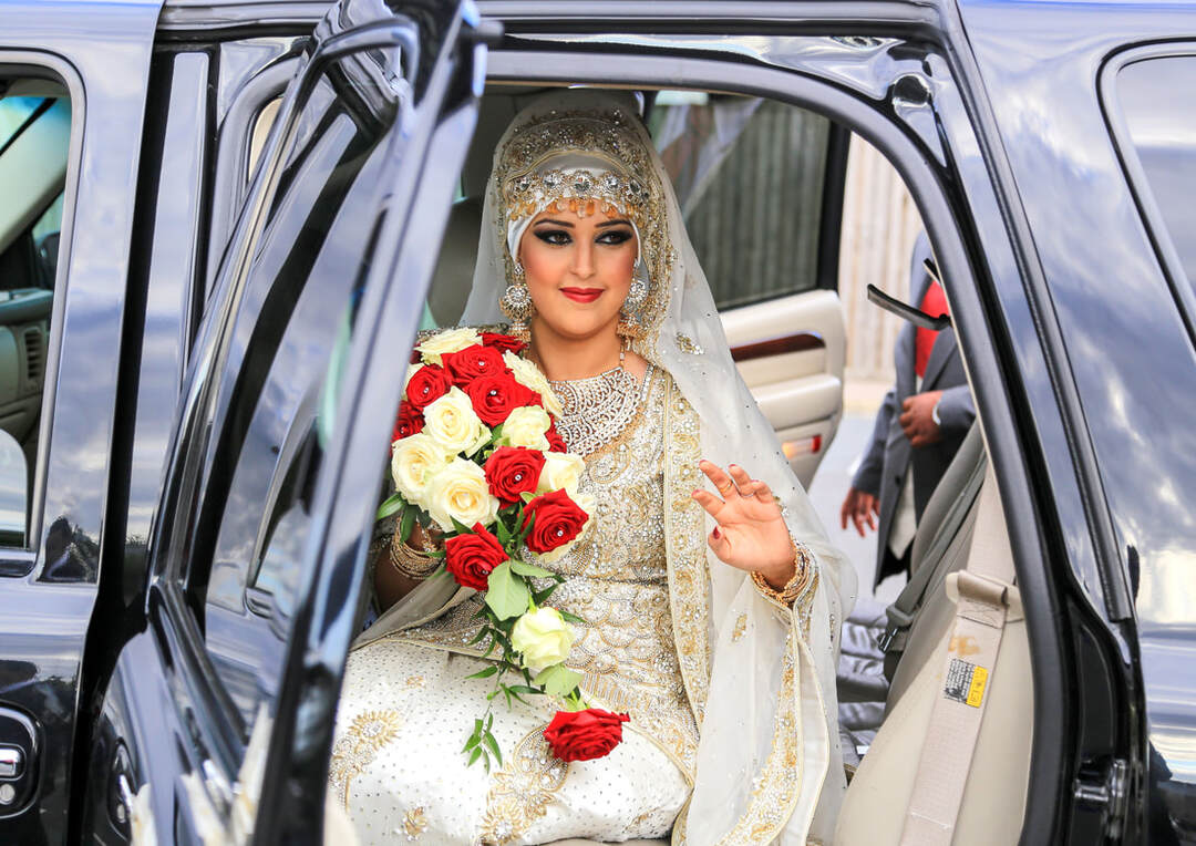 Muslim Bride Arriving in Lemo Oxford