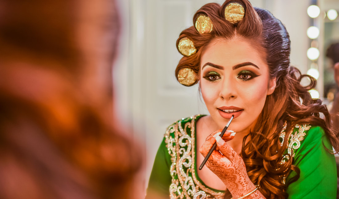 Walim getting ready beautiful outfit & Makeup